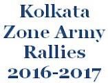Kolkata Zone, West Bengal Rally, Sikkim Rally, Odisha Rally