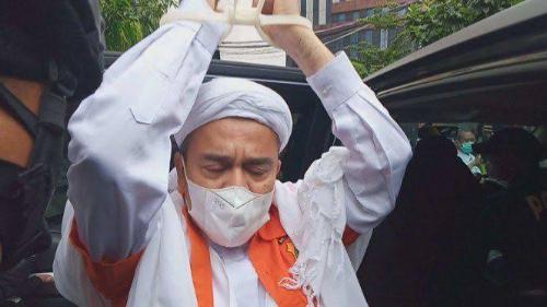 Vonis Ringan, Jadwal Habib Rizieq Bebas Tinggal Hitung Hari