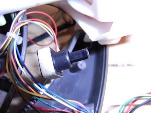 ジョイスティックの軸センサー