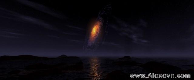 phông nền hồ cá rồng, phong nen ho ca canh 06