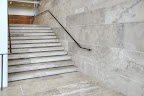 Algonquin Limestone Staircase and Wall Panels