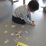 puzzelen is plezant in de klas van juf Hilde en juf Hannelore