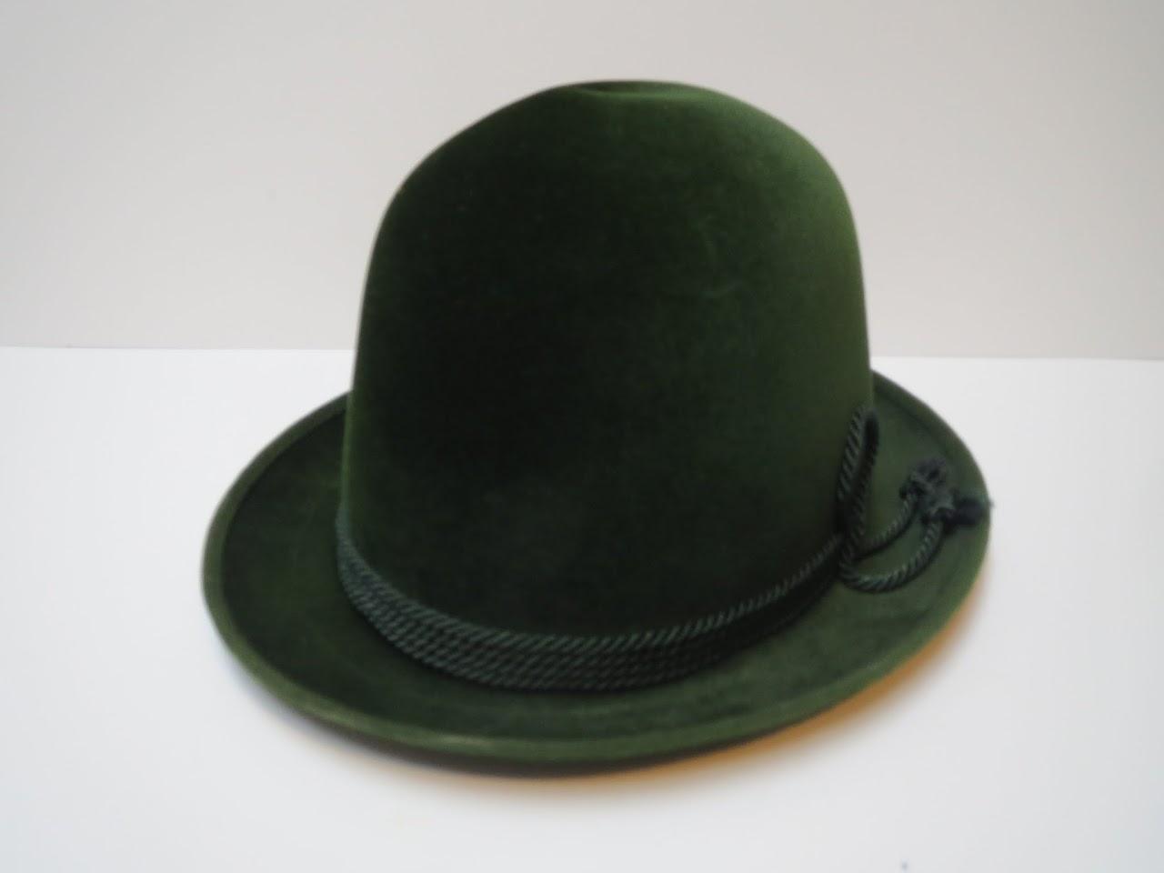 Vintage Cavanagh Green Felt Fedora