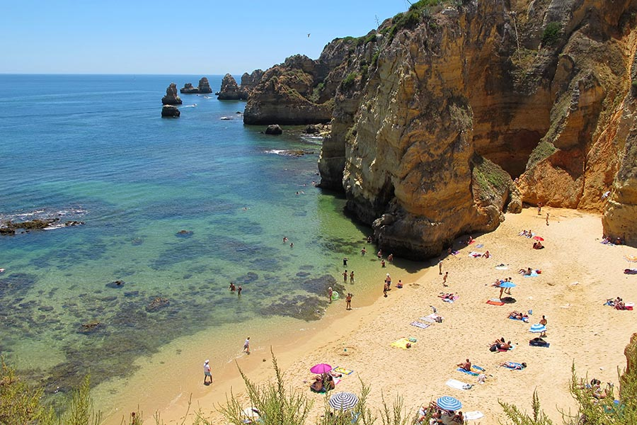 Playas en Lagos, Algarve