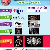 Fête 2013 - Concert du dimanche