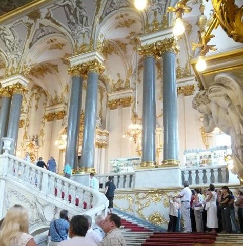 Palacio de Invierno, Hermitage,
