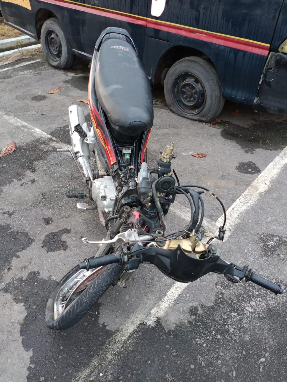 Laka Lantas Di Sergai, Seorang Pengendara Sepeda Motor Tewas