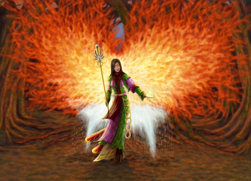 Fire Mage, Magic And Spells