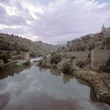 Tagus river. Toledo