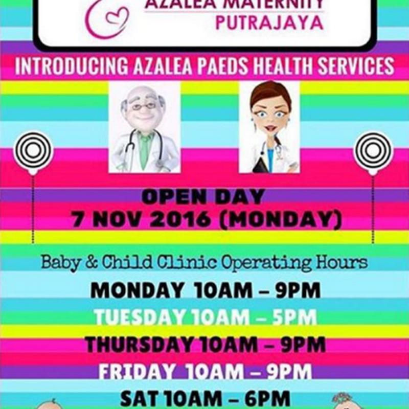 Ke Klinik Maternity Azalea , Putrajaya