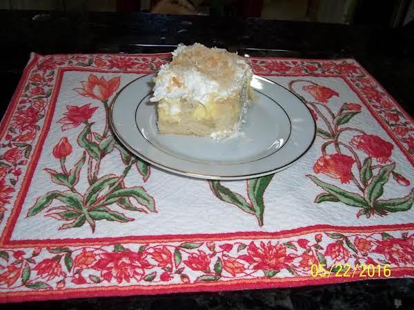 Coconut Pudding Cake Recipe