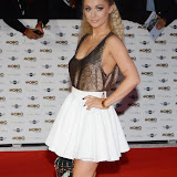 WWW.ENTSIMAGES.COM -    Alexa Goddard   arriving at   MOBO Awards 2014 at SSE Arena Wembley October 22nd 2014Annual awards show recognising the best in urban music which is supported by HTC Photo Mobis Photos/OIC 0203 174 1069