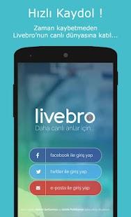 Livebro - Canlı Yayın Yap, İzle, Keşfet, Sohbet Et - náhled