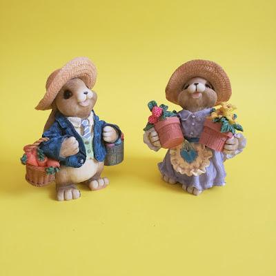 Bunnies figurines
