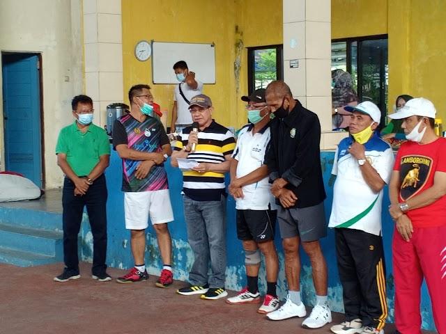 Tour Tennis dan Wisata, Baveti Kaltim Kunjungi Kotabaru