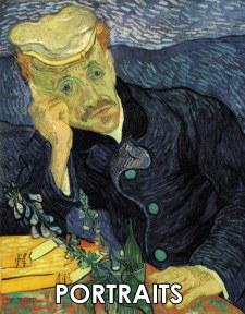 Vincent van Gogh Portraits