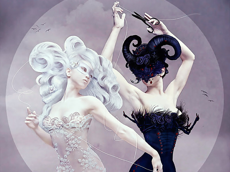 Black And White Fantasy, Magic Beauties 2