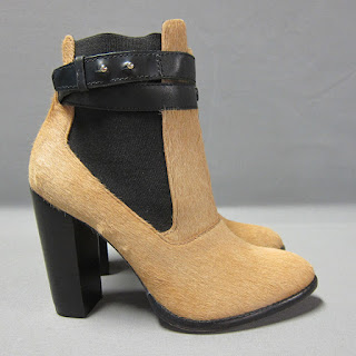 Elizabeth and James Calf Hair Booties