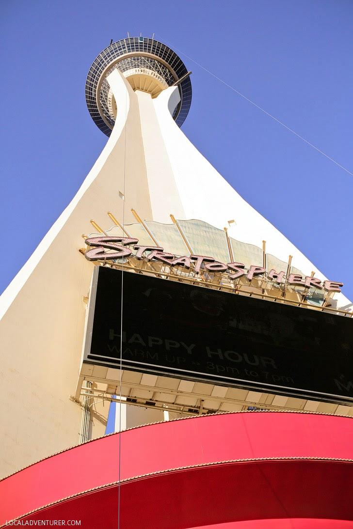 Stratosphere Sky Jump Las Vegas.