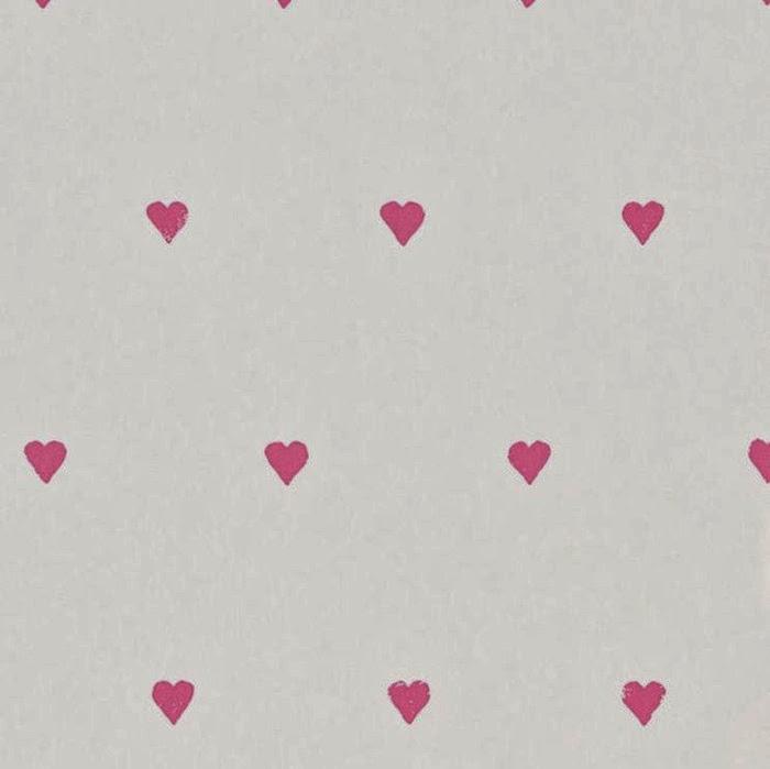 Tienda online telas papel papel pintado con corazones - Catalogo de papel pintado para paredes ...