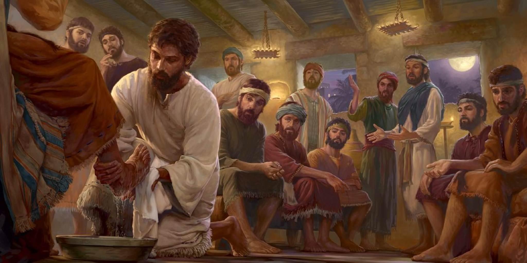 Phải rửa chân cho nhau (01.4.2021 – Thứ Năm Tuần Thánh)