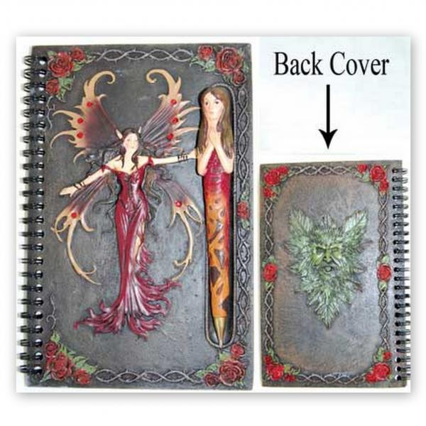 Blank Book Of Shadows Red Fairy, Book Of Shadows
