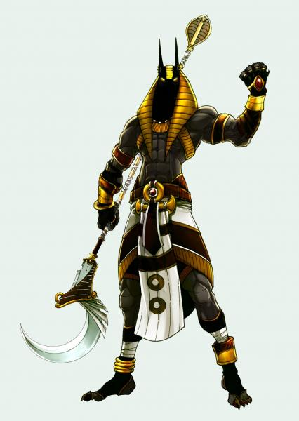 Anubis By Kheleksul, Egyptian Magic