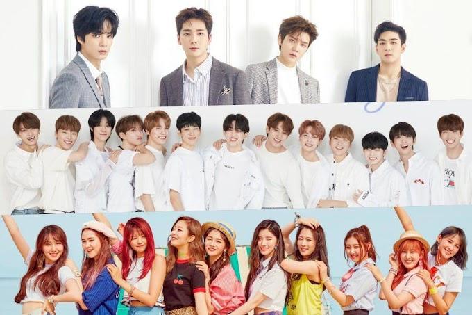 Pledis Entertainment's fromis_9, NU'EST, and SEVENTEEN Release Chuseok Greeting Videos