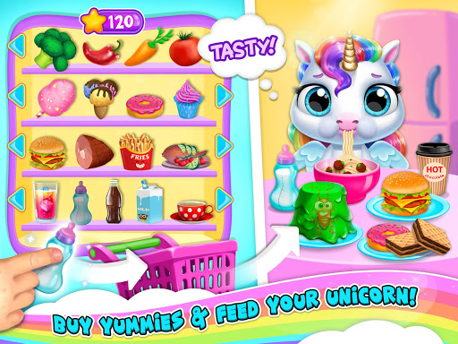 My Baby Unicorn 2 - New Virtual Pony Pet apkdebit screenshots 20