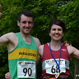 Wharfedale Trail Half finish