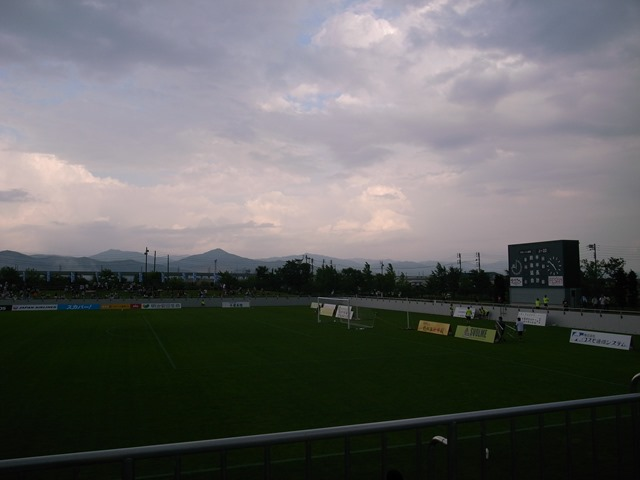 グルージャ盛岡観戦スタジアム