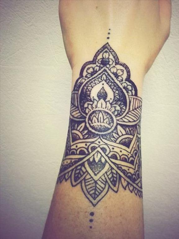 simtrico_ornamento_de_pulso_banda_tatuagem