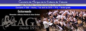Concierto de 'Guitarrenado', en Amigos de la Guitarra de Valencia