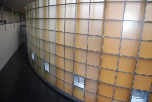 The interior curve of the wall at the Lightcatcher / Credit: Whatcom Museum