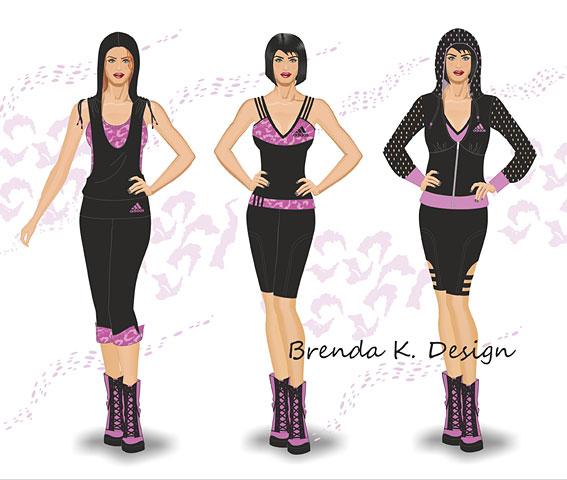 Brenka dise o moda ropa deportiva for Diseno de ropa