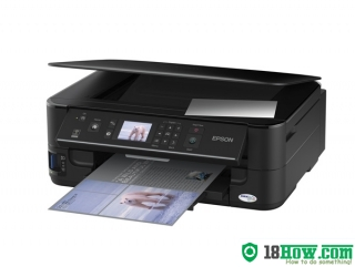 How to reset flashing lights for Epson WorkForce 625 printer