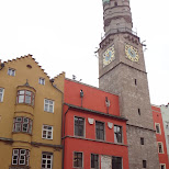 clock tower in Innsbruck, Tirol, Austria