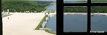 Versailles : galerie des glaces, vue sur les jardins