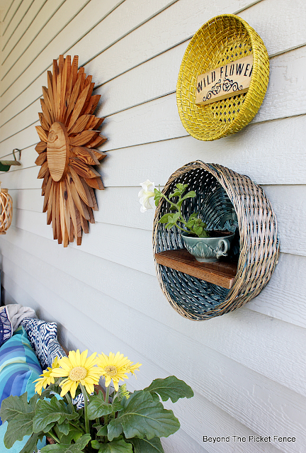 Back Porch Decor From the Thrift Store