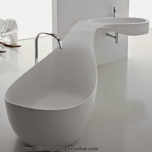 """18 chiếc bồn tắm cực """"cool"""" khiến bạn chìm đắm mãi không rời - Thi công trang trí nội thất-4"""