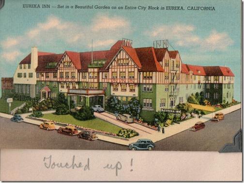Eureka Inn Postcard