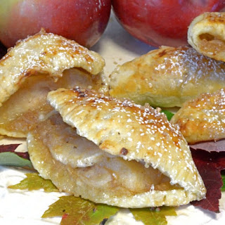 Puff Pastry Apple Hand Pies.