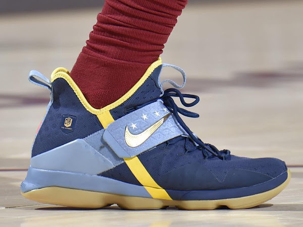 King James Scores 18 in a Row in Nike LeBron 14 Academy PE