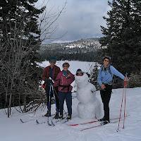 Bob & Bev Reeves X-Country Ski 4/1/06