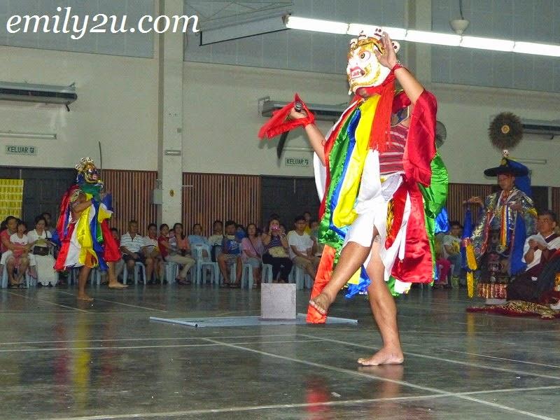 grand puja of Vajrakilaya