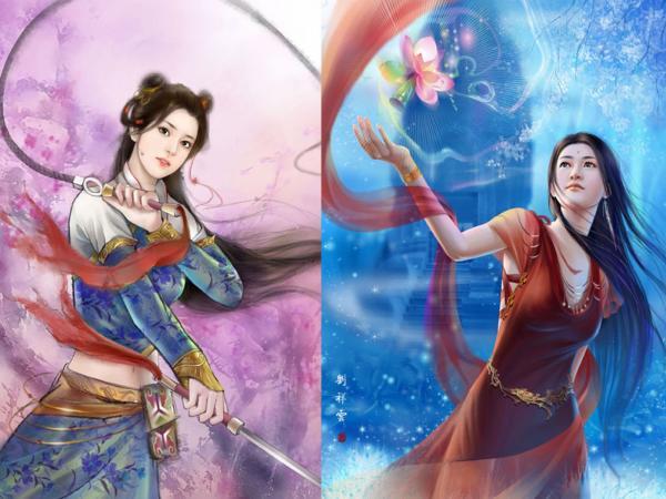 Two Sides Of Samurai Soul, Magic Samurai Beauties