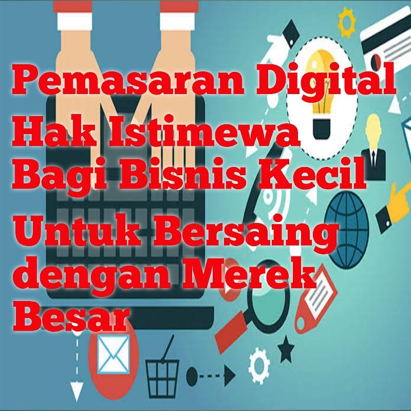 Pemasaran Digital - Hak Istimewa Bagi Bisnis Kecil Untuk Bersaing dengan Merek Besar