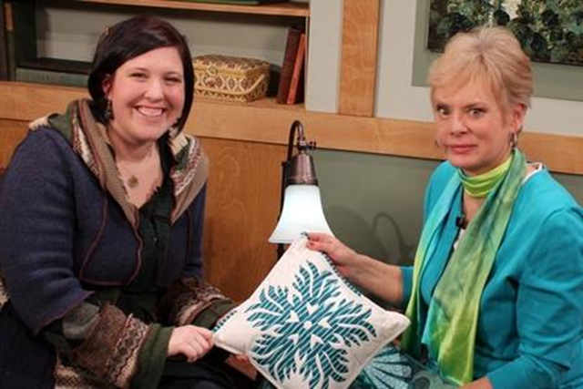 Nancy Zieman and Kim Lapacek
