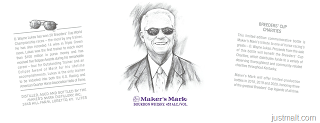 Maker's Mark Breeders Cup Edition - D. Wayne Lukas