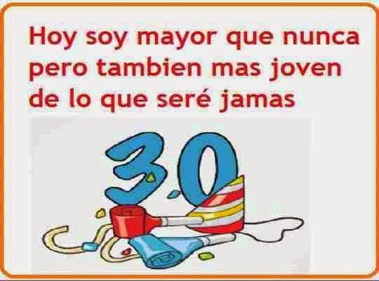 30 Cumpleaños Feliz